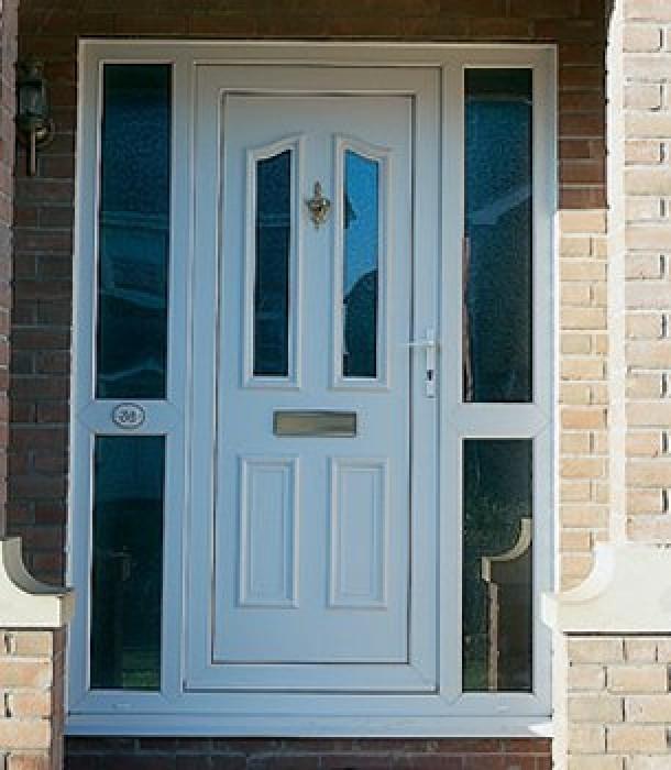 Composite Door Manufacturers : Inverclyde windows double glazed upvc doors pvcu