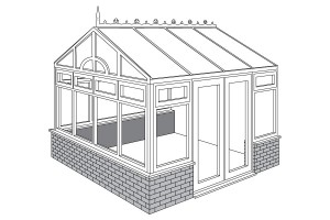 edwardian gable conservatories